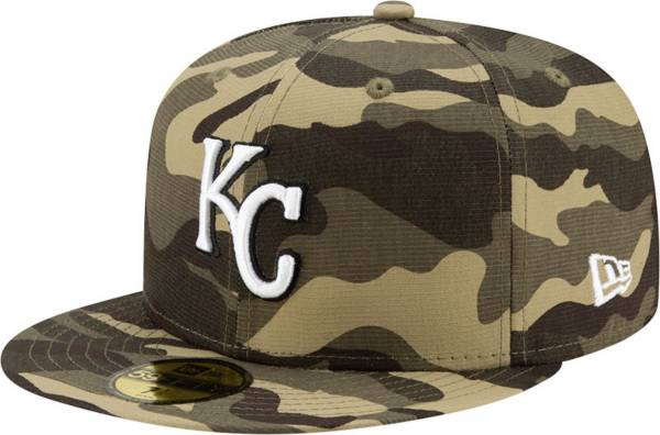 New Era Men's Kansas City Royals Camo Armed Forces 59Fifty Fitted Hat product image