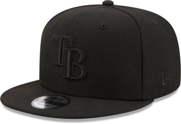 New Era Men's Tampa Bay Rays Black 9Fifty Color Pack Adjustable Hat product image