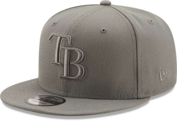New Era Men's Tampa Bay Rays Grey 9Fifty Color Pack Adjustable Hat product image