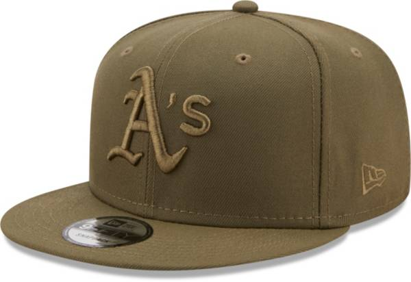 New Era Men's Oakland Athletics Green 9Fifty Color Pack Adjustable Hat product image