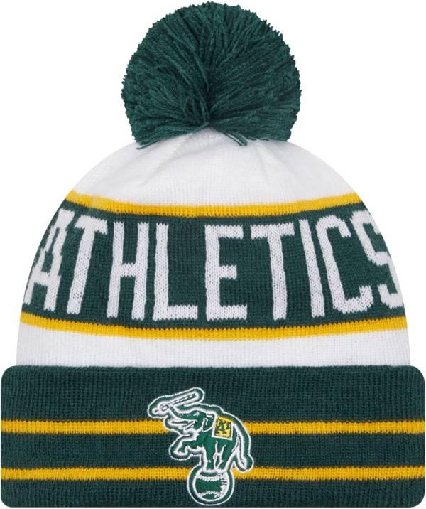 New Era Men's Oakland Athletics Green Fan Favorite Knit Hat product image