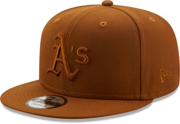 New Era Men's Oakland Athletics Tan 9Fifty Color Pack Adjustable Hat product image