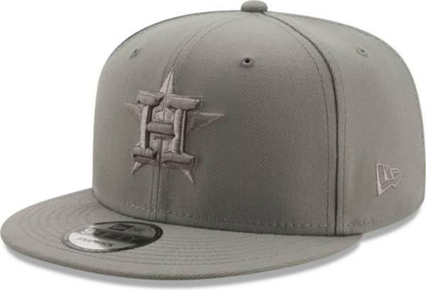 New Era Men's Houston Astros Grey 9Fifty Color Pack Adjustable Hat product image