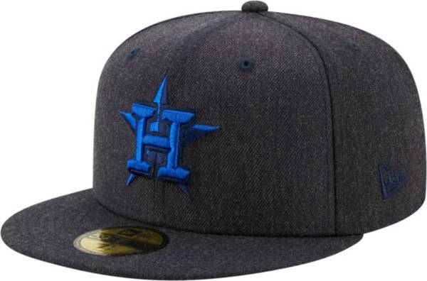 New Era Men's Houston Astros 59Fifty Navy Heather Classic Fitted Hat product image