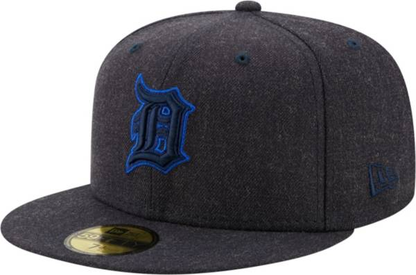 New Era Men's Detroit Tigers 59Fifty Navy Heather Classic Fitted Hat product image