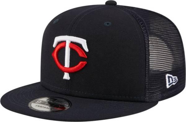 New Era Men's Minnesota Twins 9Fifty Navy Classic Trucker Adjustable Hat product image