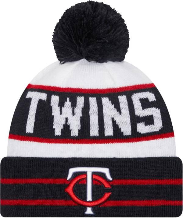 New Era Men's Minnesota Twins Navy Fan Favorite Knit Hat product image