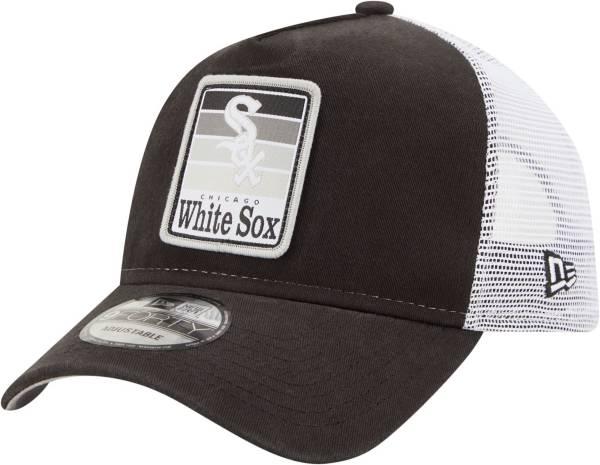 New Era Men's Chicago White Sox 9Twenty Black Gradient Adjustable Hat product image