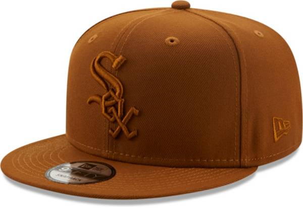 New Era Men's Chicago White Sox Tan 9Fifty Color Pack Adjustable Hat product image