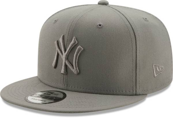 New Era Men's New York Yankees Grey 9Fifty Color Pack Adjustable Hat product image