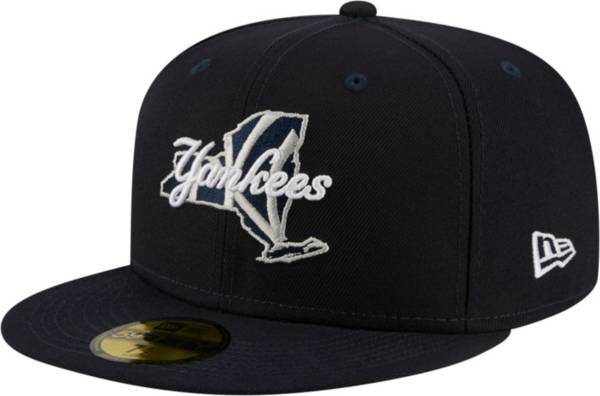 New Era Men's New York Yankees 59Fifty Navy Local Fitted Hat product image