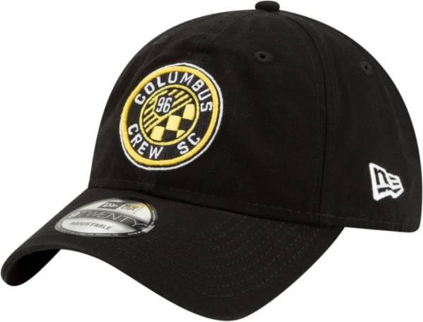 New Era Men's Columbus Crew Black Core Classic 9Twenty Adjustable Hat product image