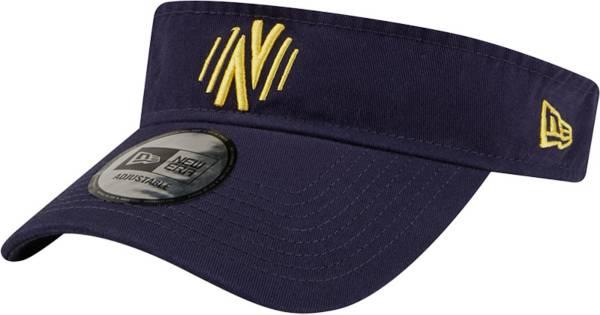 New Era Men's Nashville SC Blue Dugout Visor product image