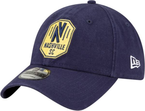 New Era Men's Nashville SC Navy Core Classic 9Twenty Adjustable Hat product image
