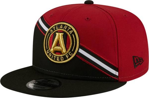 New Era Men's Atlanta United 9Fifty Black/Red Adjustable Hat product image