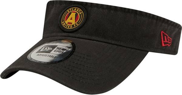 New Era Men's Atlanta United Black Dugout Visor product image