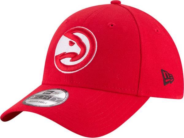 New Era Men's Atlanta Hawks Red 9Forty Adjustable Hat product image
