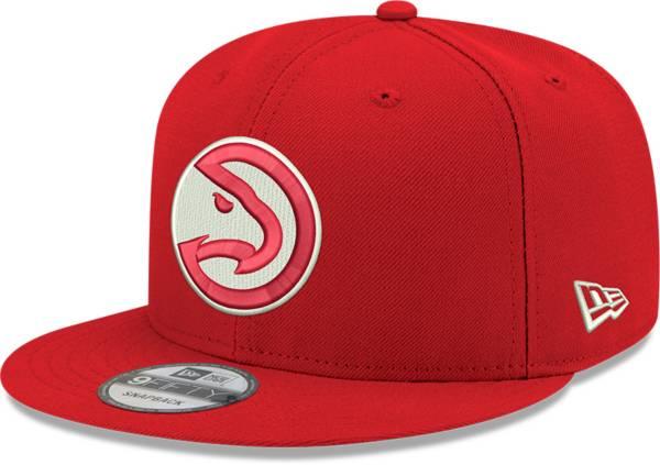 New Era Men's Atlanta Hawks Red 9Fifty Adjustable Hat product image