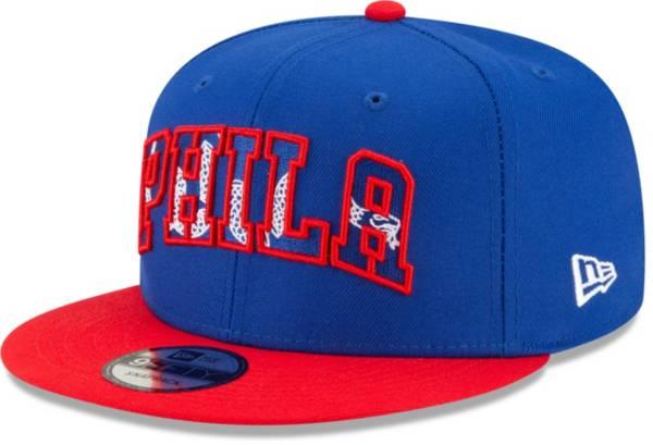 New Era Men's Philadelphia 76ers 2021 NBA Draft 9Fifty Adjustable Snapback Hat product image