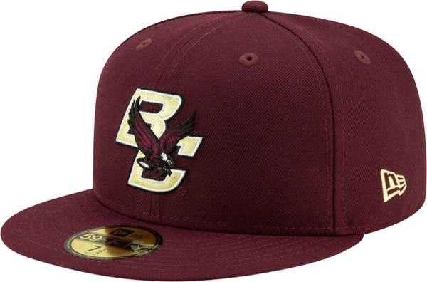 New Era Men's Boston College Eagles Maroon 59Fifty Fitted Hat product image