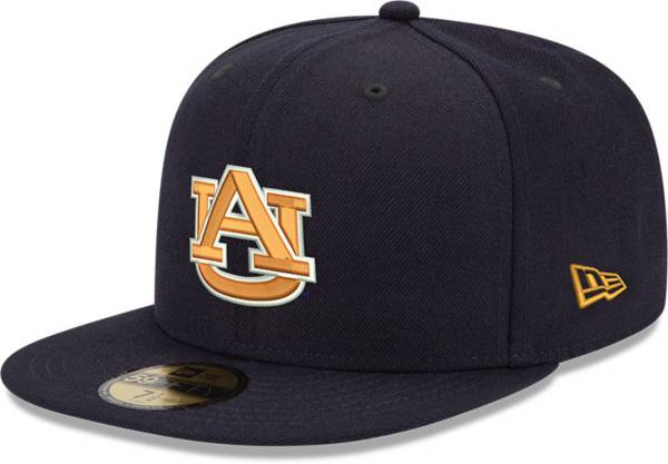New Era Men's Auburn Tigers Blue 59Fifty Fitted Hat product image