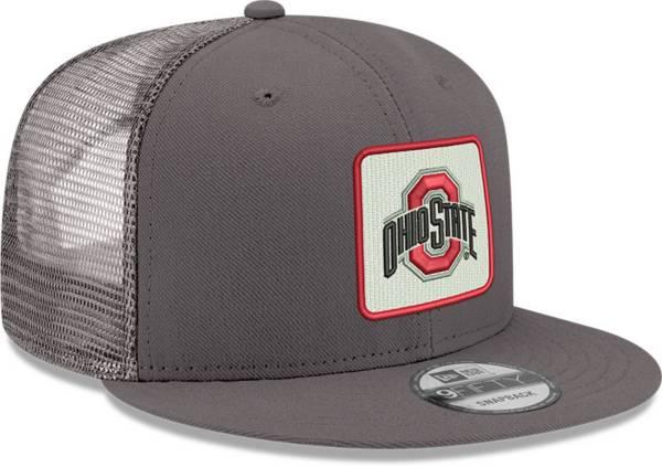 New Era Men's Ohio State Buckeyes Black 9Fifty Adjustable Hat product image