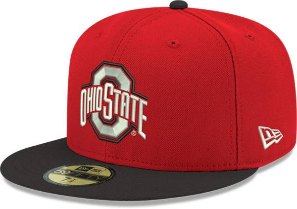New Era Men's Ohio State Buckeyes Scarlet 59Fifty Fitted Hat product image