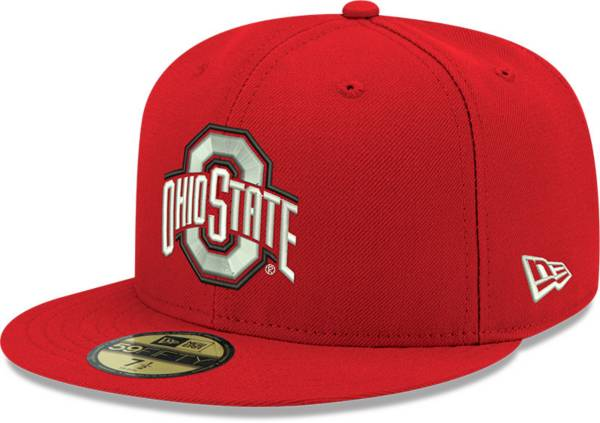 New Era Men's Ohio State Buckeyes Red 59Fifty Fitted Hat product image