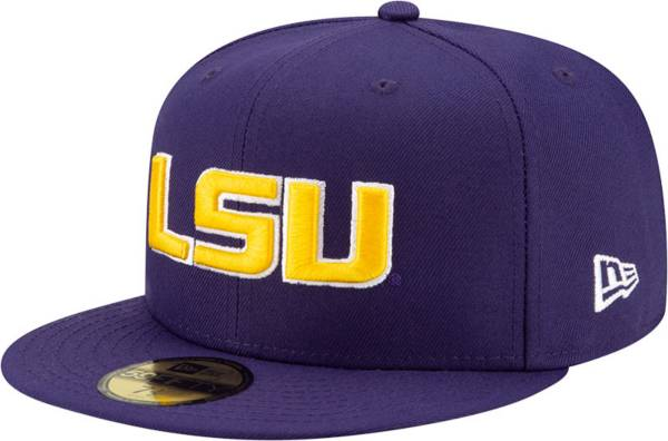 New Era Men's LSU Tigers Purple 59Fifty Fitted Hat product image
