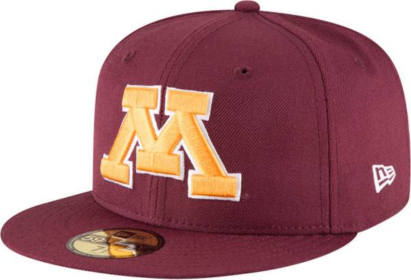 New Era Men's Minnesota Golden Gophers Maroon 59Fifty Fitted Hat product image