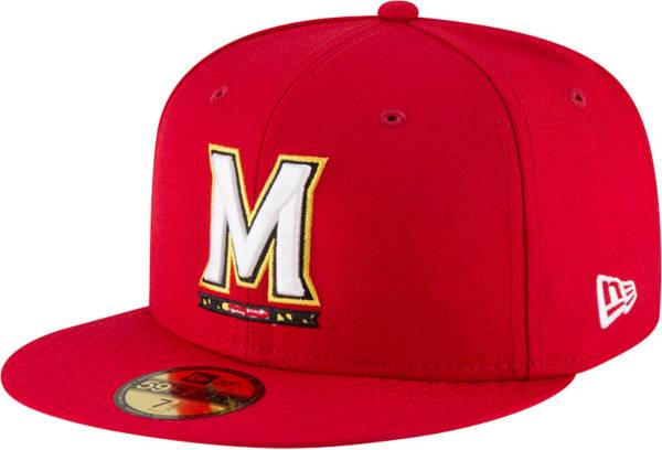 New Era Men's Maryland Terrapins Red 59Fifty Fitted Hat product image