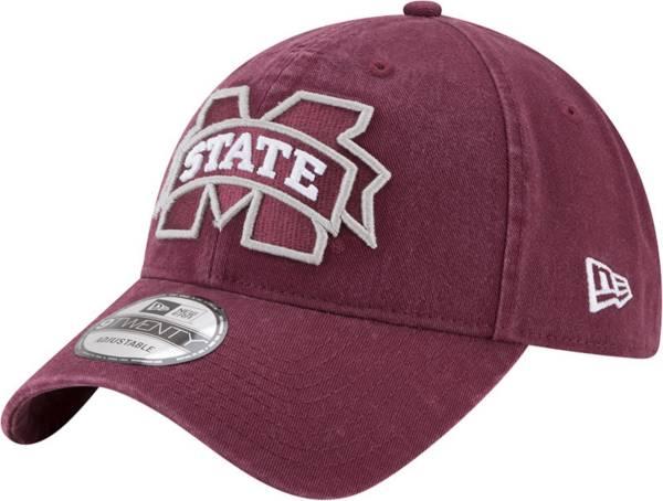 New Era Men's Mississippi State Bulldogs Maroon 9Twenty Core Classic Adjustable Hat product image
