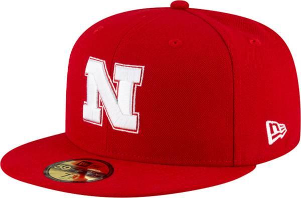 New Era Men's Nebraska Cornhuskers Scarlet 59Fifty Fitted Hat product image