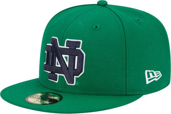 New Era Men's Notre Dame Fighting Irish Green 59Fifty Fitted Hat product image