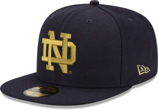 New Era Men's Notre Dame Fighting Irish Navy 59Fifty Fitted Hat product image