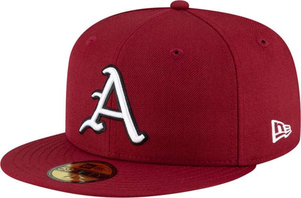 New Era Men's Arkansas Razorbacks Cardinal 59Fifty Fitted Hat product image