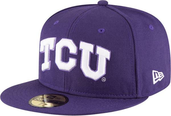 New Era Men's TCU Horned Frogs Purple 59Fifty Fitted Hat product image