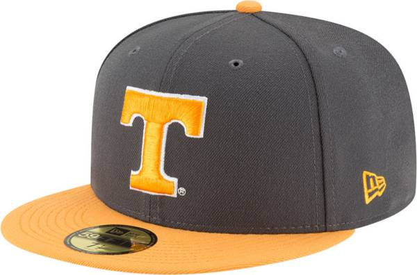 New Era Men's Tennessee Volunteers Grey 59Fifty Fitted Hat product image