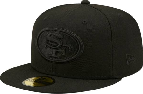 New Era Men's San Francisco 49ers Color Pack 59Fifty Black Fitted Hat product image