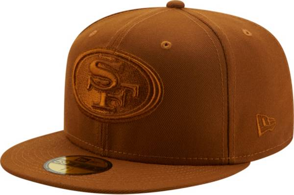 New Era Men's San Francisco 49ers Color Pack 59Fifty Peanut Fitted Hat product image