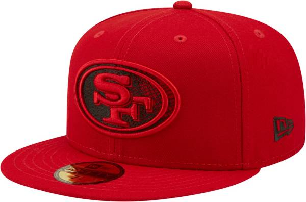 New Era Men's San Francisco 49ers Scored 59Fifty Red Fitted Hat product image