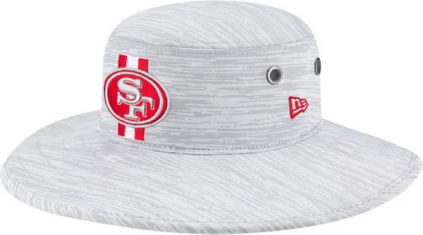 New Era Men's San Francisco 49ers Grey Sideline 2021 Training Camp Panama Bucket Hat product image