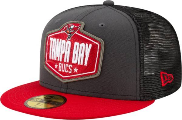 New Era Men's Tampa Bay Buccaneers 2021 NFL Draft 59Fifty Graphite Fitted Hat product image