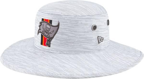 New Era Men's Tampa Bay Buccaneers Grey Sideline 2021 Training Camp Panama Bucket Hat product image