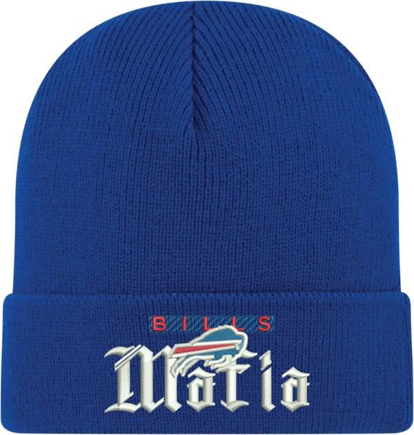 New Era Men's Buffalo Bills Mafia Royal Cuffed Knit Beanie product image