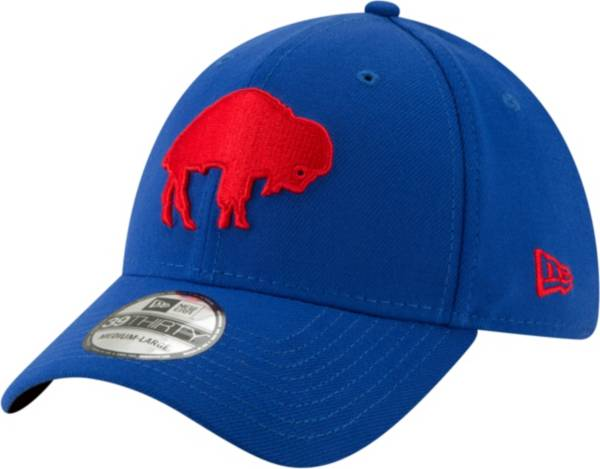 New Era Men's Buffalo Bills Blue 39Thirty Classic Fitted Hat product image