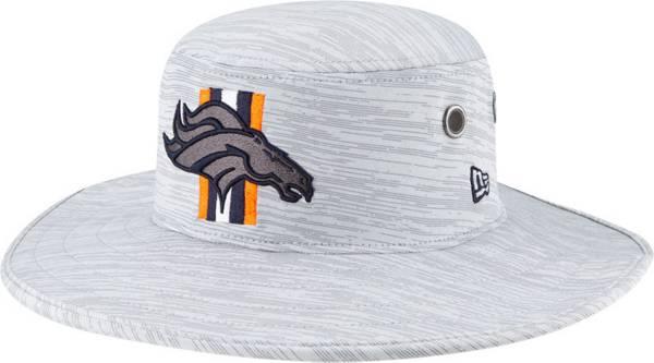 New Era Men's Denver Broncos Grey Sideline 2021 Training Camp Panama Bucket Hat product image