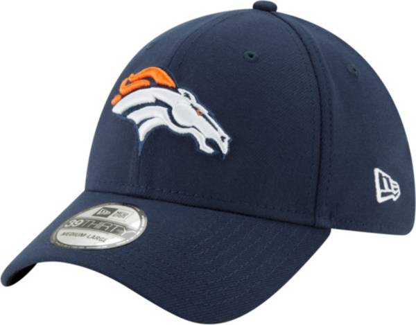 New Era Men's Denver Broncos Navy 39Thirty Classic Fitted Hat product image