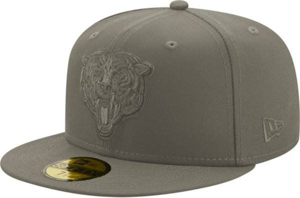 New Era Men's Chicago Bears Color Pack 59Fifty Grey Fitted Hat product image