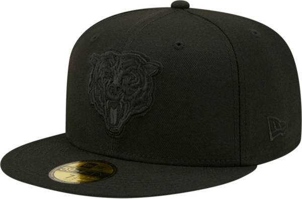 New Era Men's Chicago Bears Color Pack 59Fifty Black Fitted Hat product image
